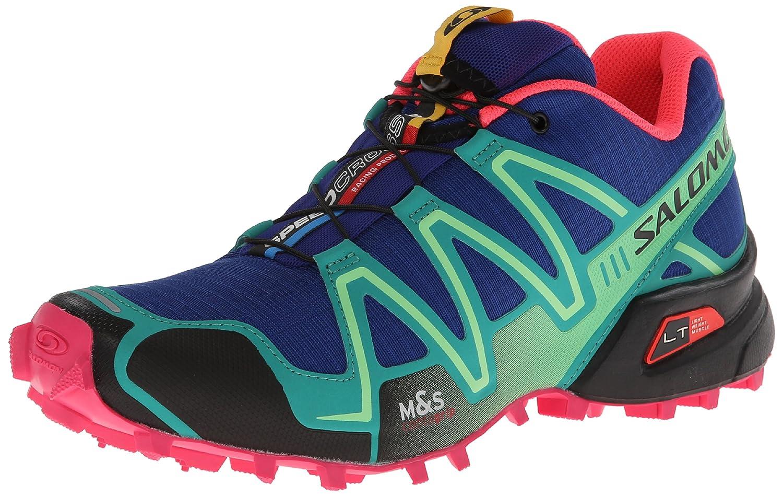 SALOMON Women's Speed Cross 3 W Trail Running Shoe,Blue