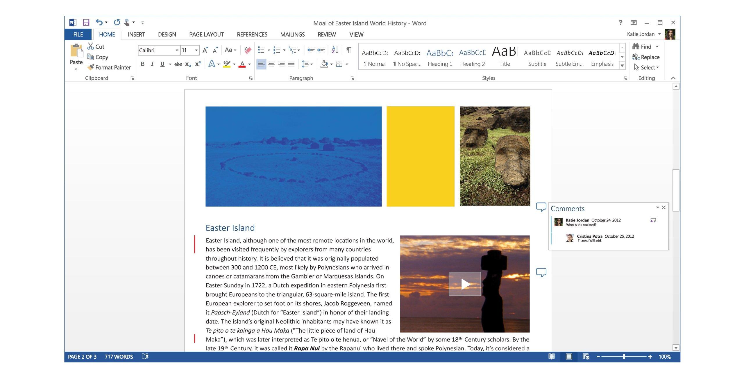 Microsoft Word 2013 Key Card (No Disc) by Microsoft