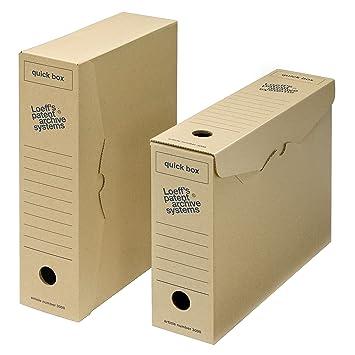 Archivo archivador de almacenamiento Caja - rápido caja A4: Amazon.es: Oficina y papelería