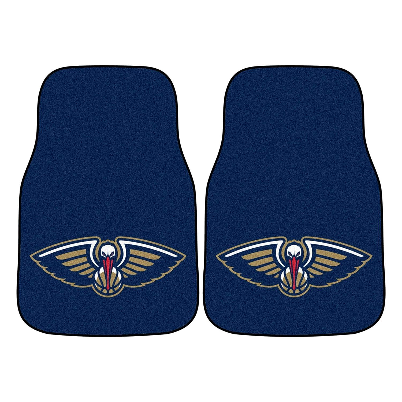 FANMATS NBA New Orleans Pelicans Nylon Face Carpet Car Mat