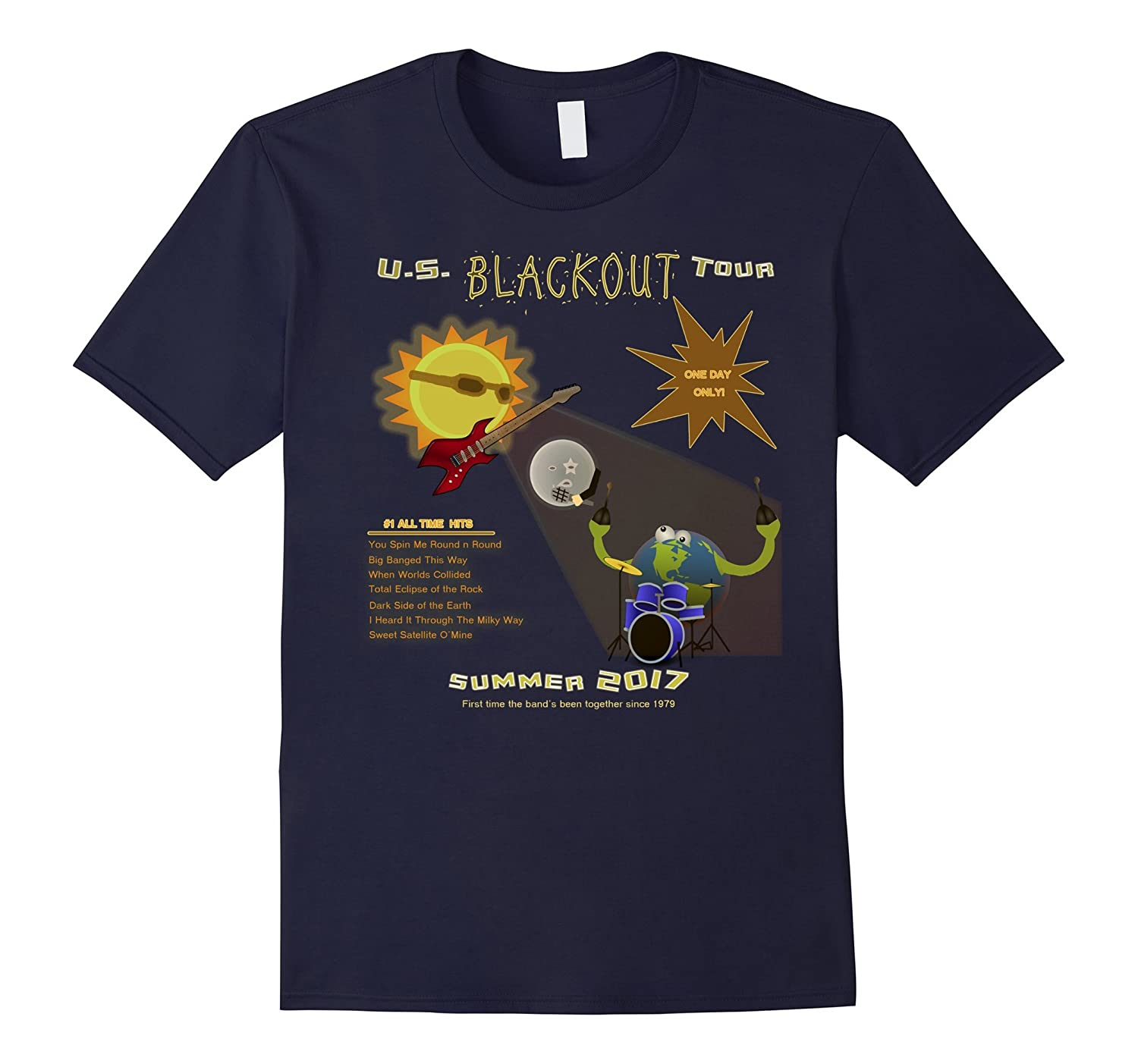 2 Sided - Blackout U.S. Tour Total Eclipse T Shirt - 2017-BN