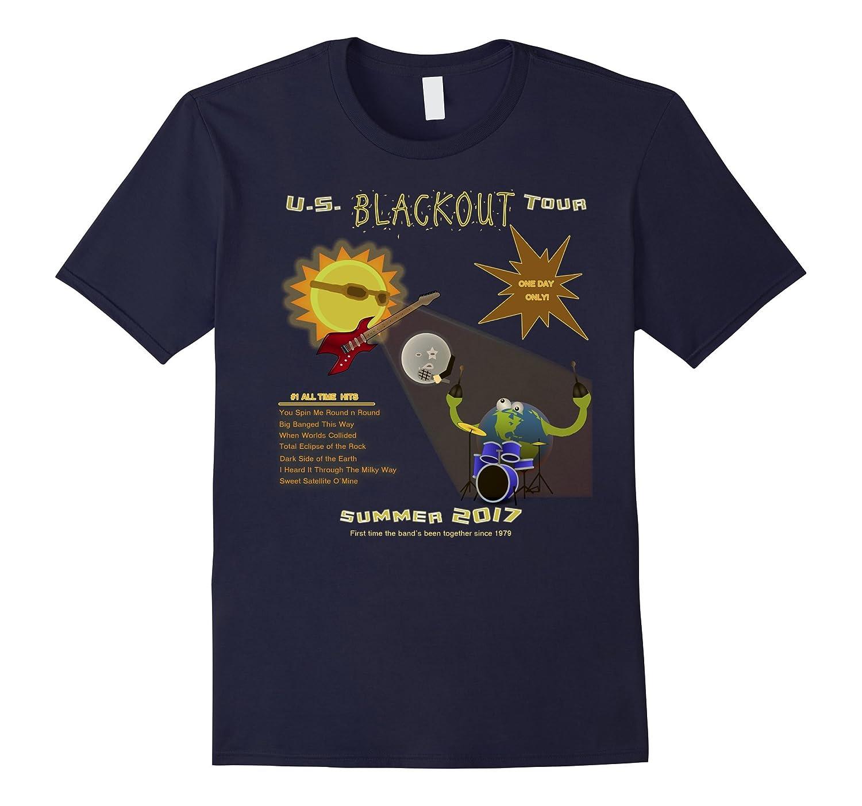 2 Sided - Blackout U.S. Tour Total Eclipse T Shirt - 2017-4LVS