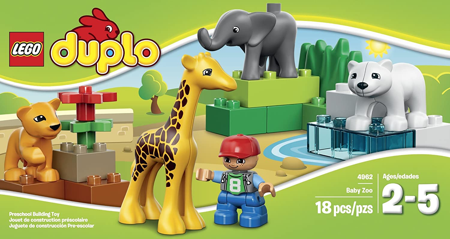 """LEGO DUPLO PRIMO Chunky YELLOW ZOO ELEPHANT BUILDING BLOCK for BABY 3/"""" Tall"""