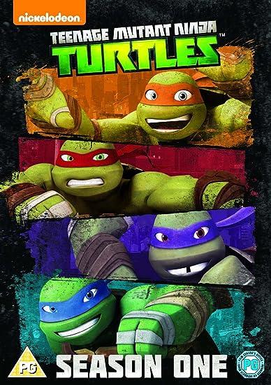 Teenage Mutant Ninja Turtles Season 1 Repack 4 Dvd Edizione ...