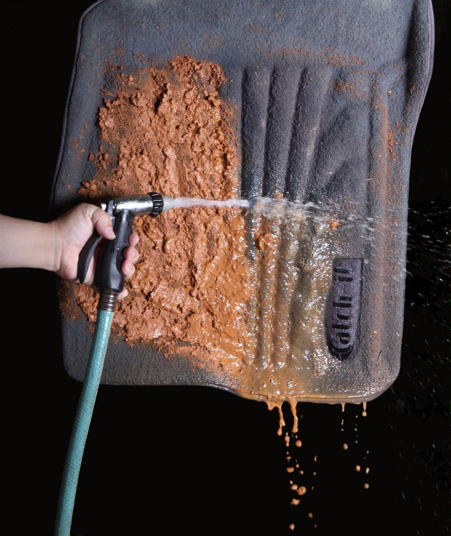 Lund 783042-G Catch-It Carpet Grey Rear Seat Floor Mat