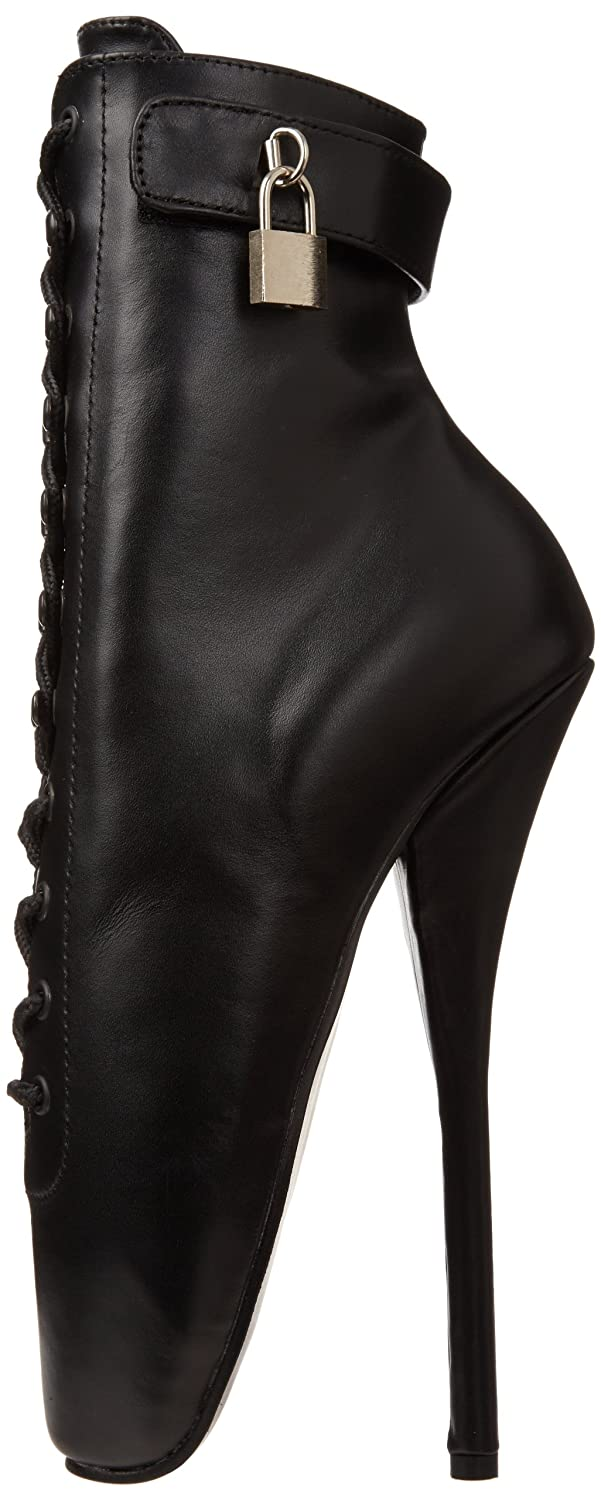 Pleaser Women's Ballet-1025 Ankle Boot Leather B000XUI7XE 15 B(M) US|Black Leather Boot 5004d4