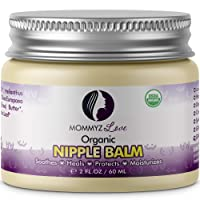 Best Nipple Cream for Breastfeeding Relief (2 oz) - Provides Immediate Relief To...