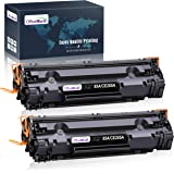 OfficeWorld Compatible Toner Cartridge Replacement for HP 85A CE285A 35A CB435A, Work with HP Laserjet Pro P1102w P1109w…