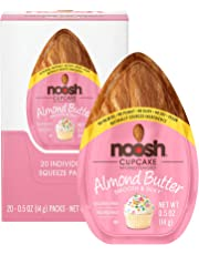NOOSH Cupcake Almond Butter (20 Count) - All Natural, Vegan, Gluten Free, Soy Free