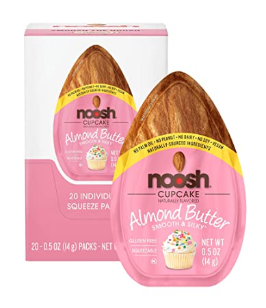NOOSH Almond Butter Cupcake Packets 20 Count