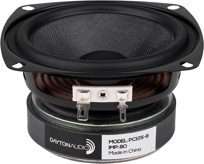 "Dayton Audio PC105-8 4"" Full-Range Poly Cone Driver"