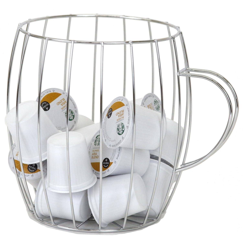 Amazon.com: Wire Coffee Pod Holder and Organizer in Coffee Mug Shape ...
