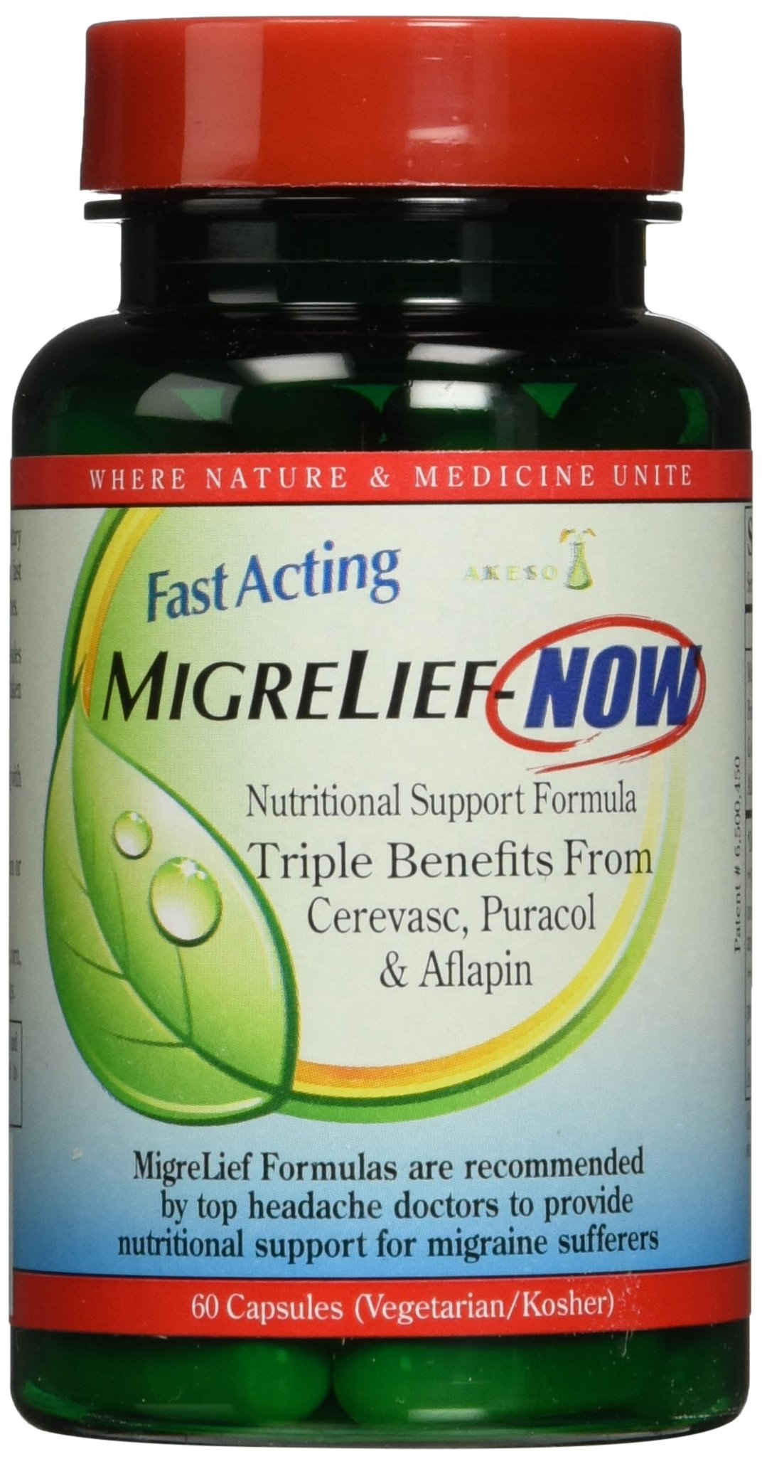 Migrelief NOW Fast Acting 60 Capsules