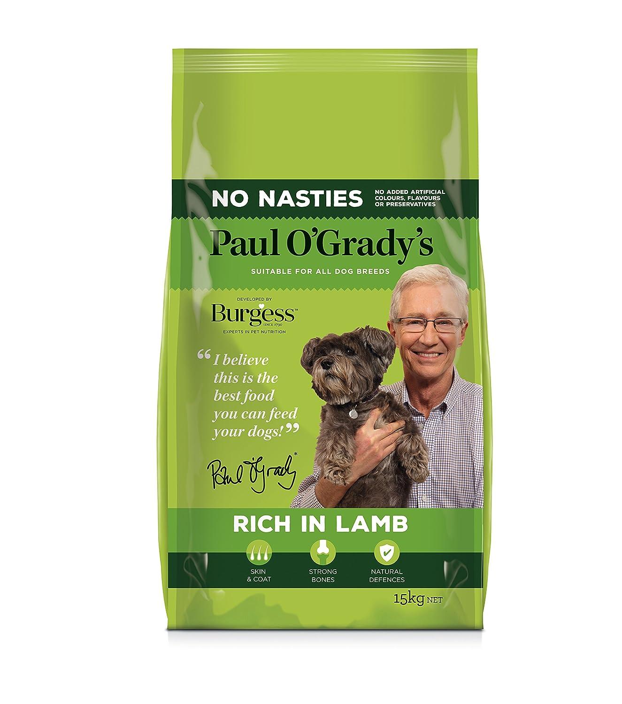 Paul O Grady Rich in Lamb, 15 kg Burgess Petcare FD60004LL1