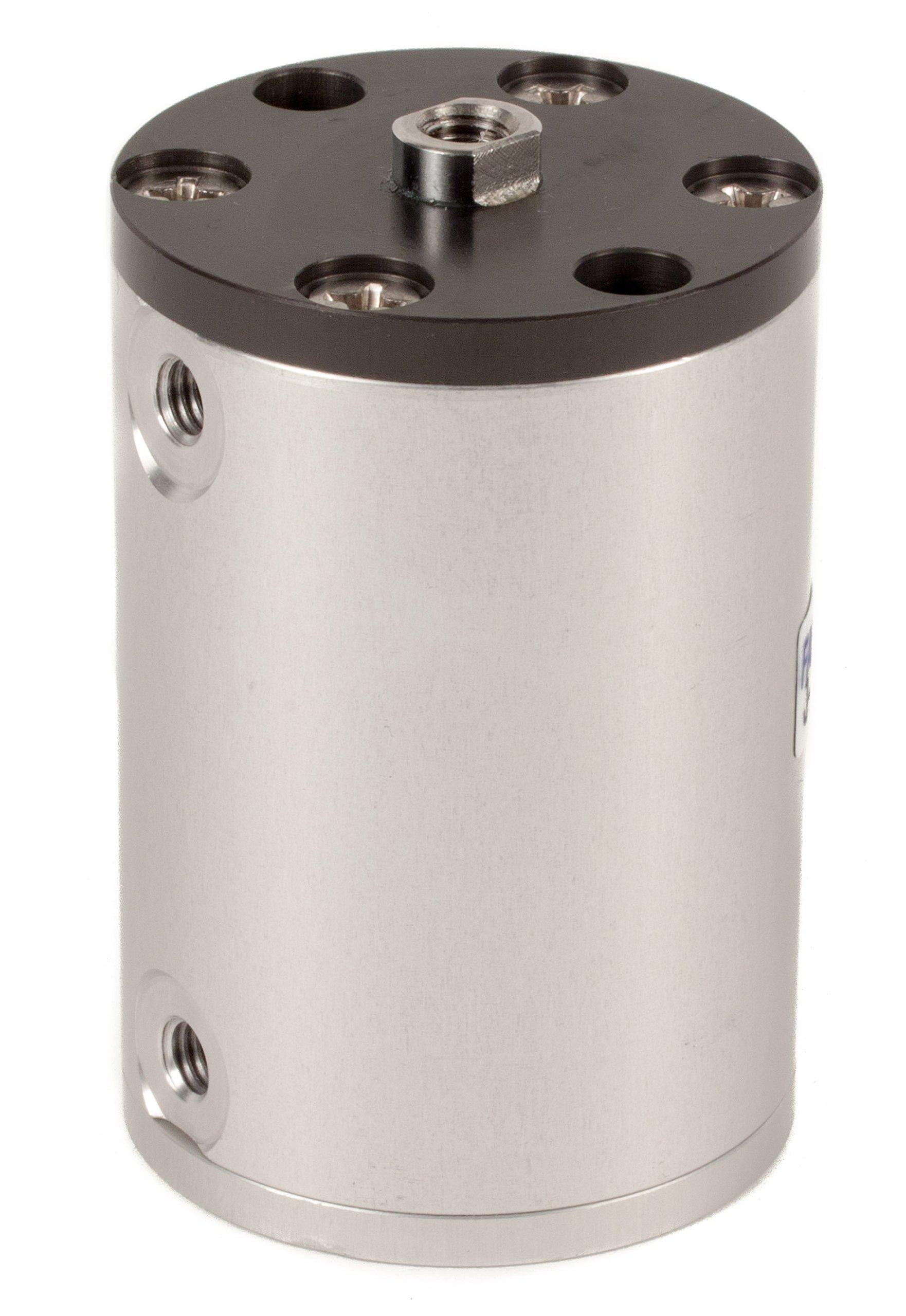 Fabco-Air L-7-X Original Pancake Cylinder, Double Acting, Maximum Pressure of 250 PSI, 3/4'' Bore Diameter x 3'' Stroke