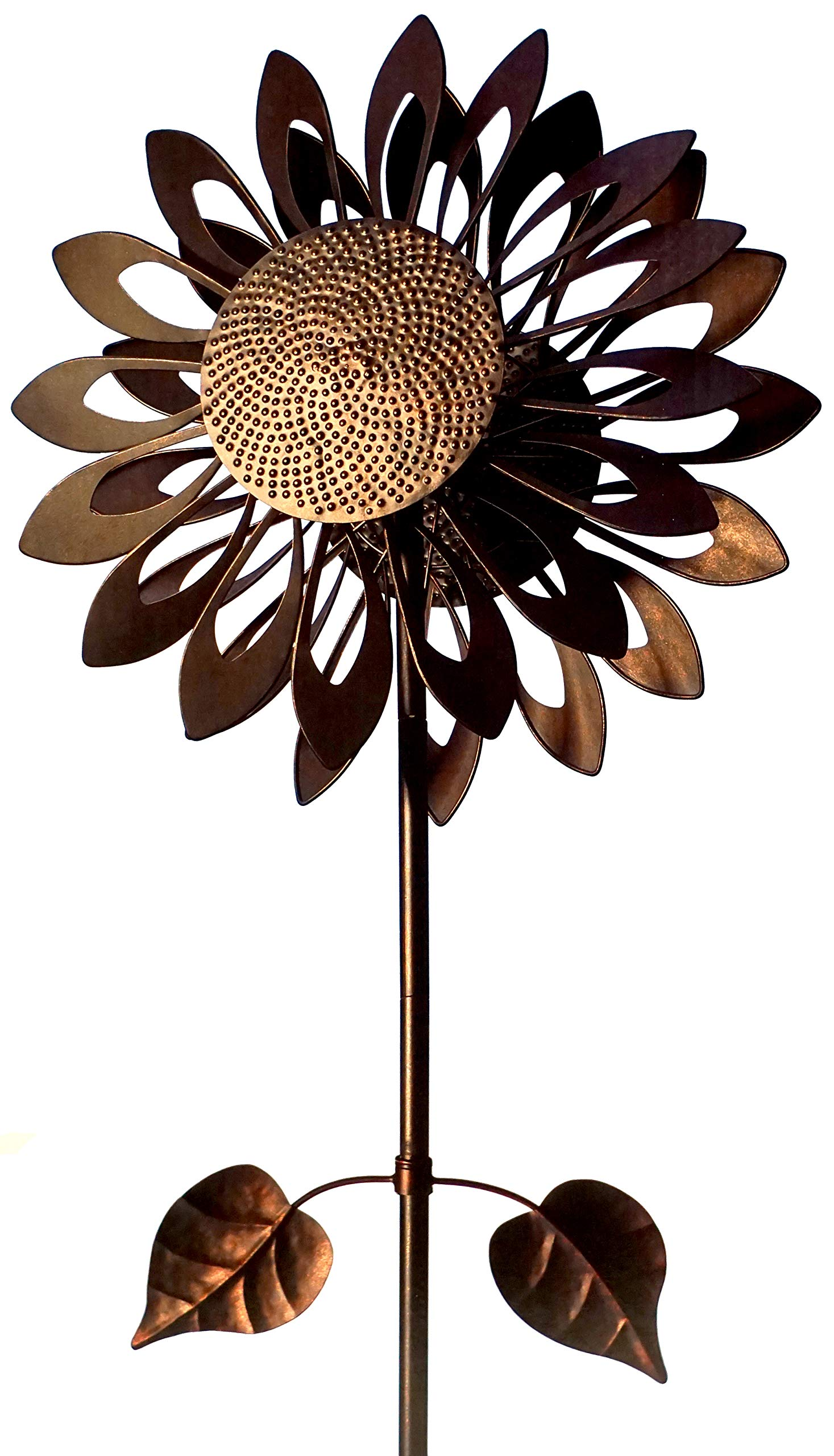 Southern Patio COS1900789 Sunflower Wind Spinner-73 Tall by Southern Patio