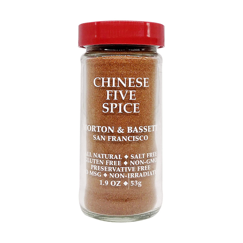 Morton & Bassett Chinese 5 Spice, 1.9-Ounce jar