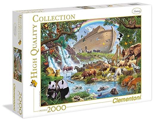 4 opinioni per Clementoni 32550- Puzzle L'Arca Di Noè, 2000 pz.