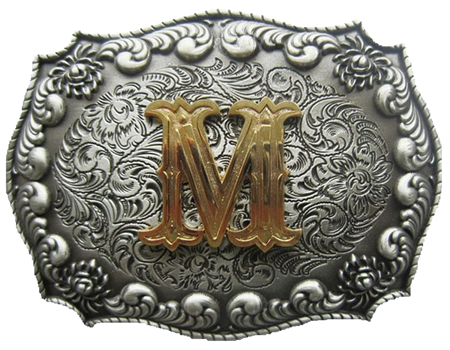 Western Cowboy Cowgirl Original Letter Belt Buckle Stock In US Gurtelschnalle