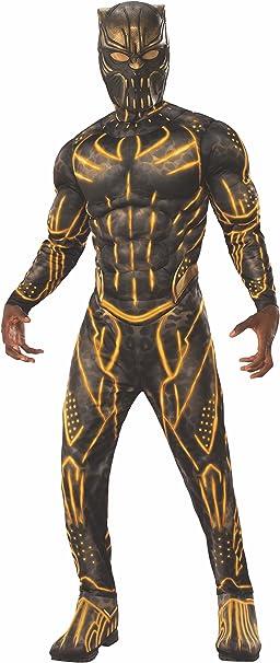 Rubies 820994XL Marvel - Disfraz de pantera negra, para hombre ...