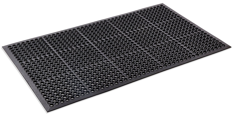Kempf Anti Fatigue Drainage Rubber Mat 3' X 5'