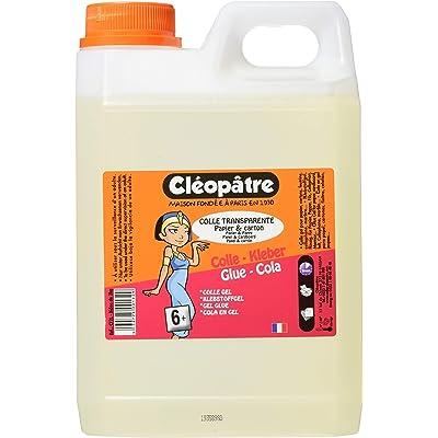Cleopatre CT2L, Pegamento Especial para Escuelas, 2 Kg, Transparente