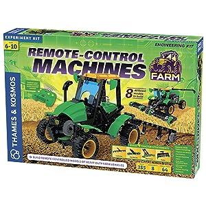 Thames & Kosmos 620381 Remote Control Machines: Farm Science Experiment Kit