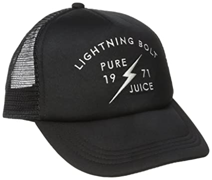 43c27ba6a1e Lightning Bolt Men s Pure Juice Trucker Hat