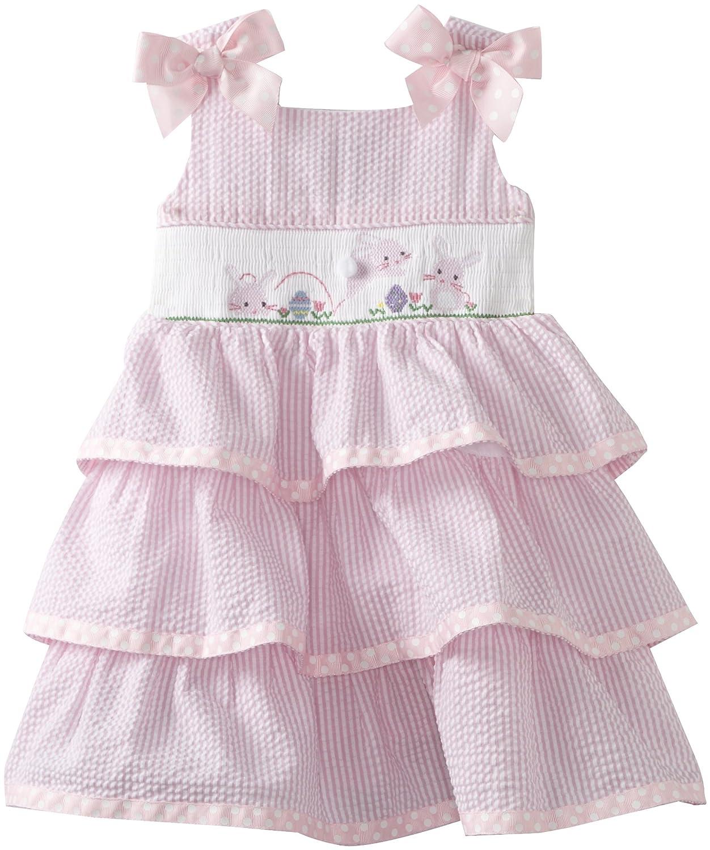Girls Smocked Easter Bunny Dresses | Easter Wikii