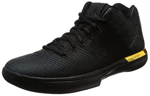 3022b4064ee8db Nike Jordan Men s Air Jordan XXXI Low Black Black Anthracite Basketball Shoe  10.5 Men US