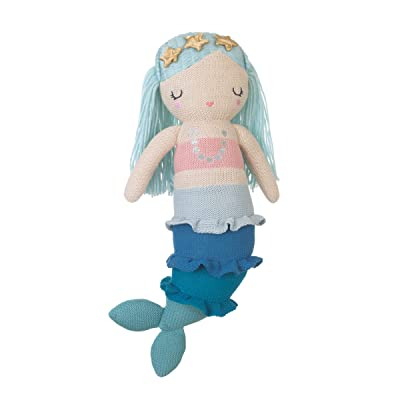 NoJo Sugar Reef Mermaid Super Adorable Mermaid Plush Doll, Aqua, Teal, Pink: Baby