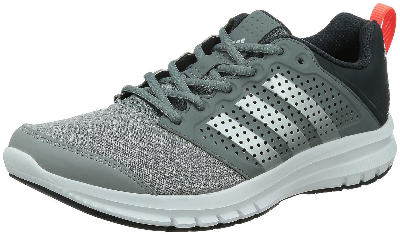 adidas uomini madoru grigio antracite delle scarpe da corsa uk 11: amazon