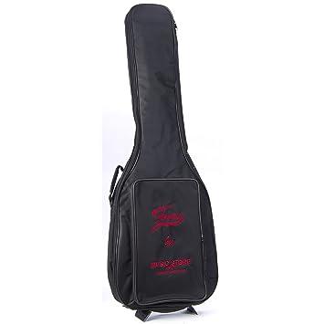 Funda para guitarra eléctrica Basic Logo Negro/Rojo: Amazon.es: Instrumentos musicales
