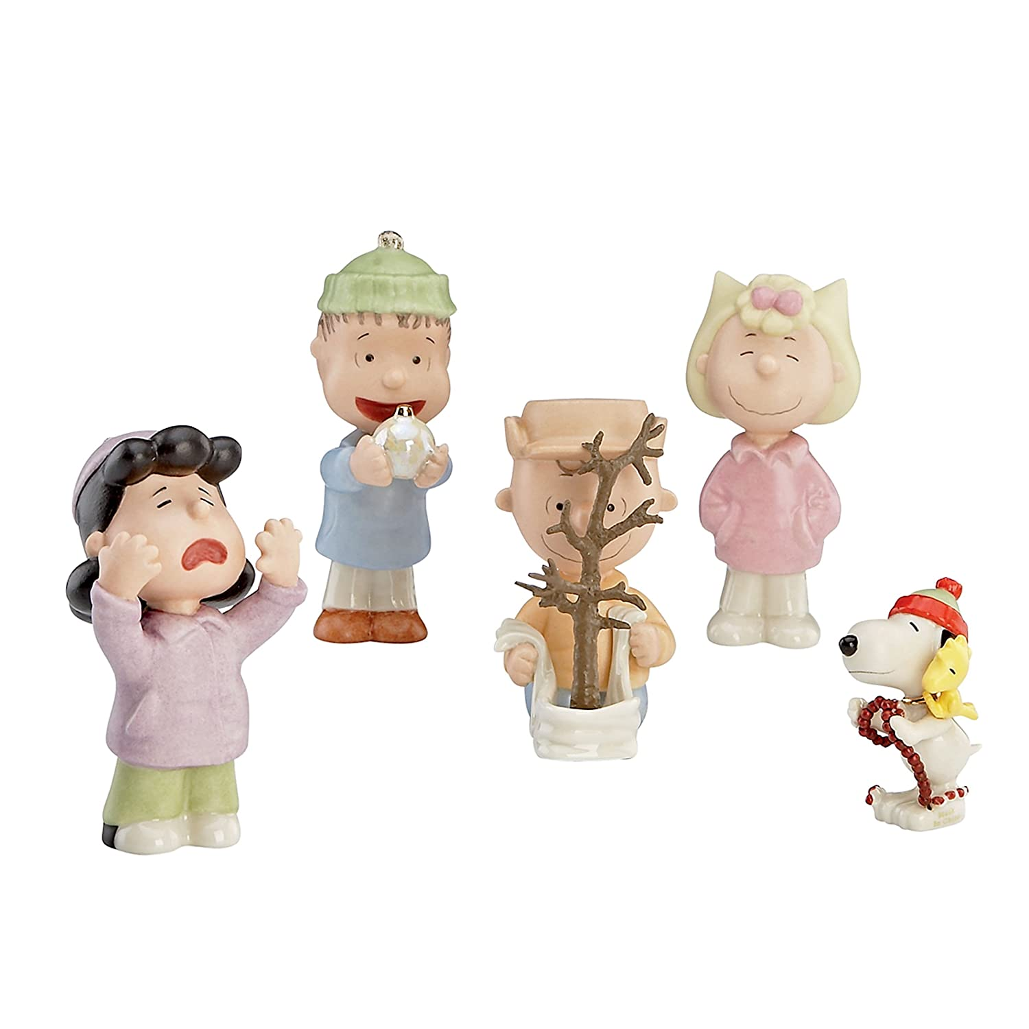 Amazoncom Lenox 5 Piece Thats What Christmas is All About Charlie