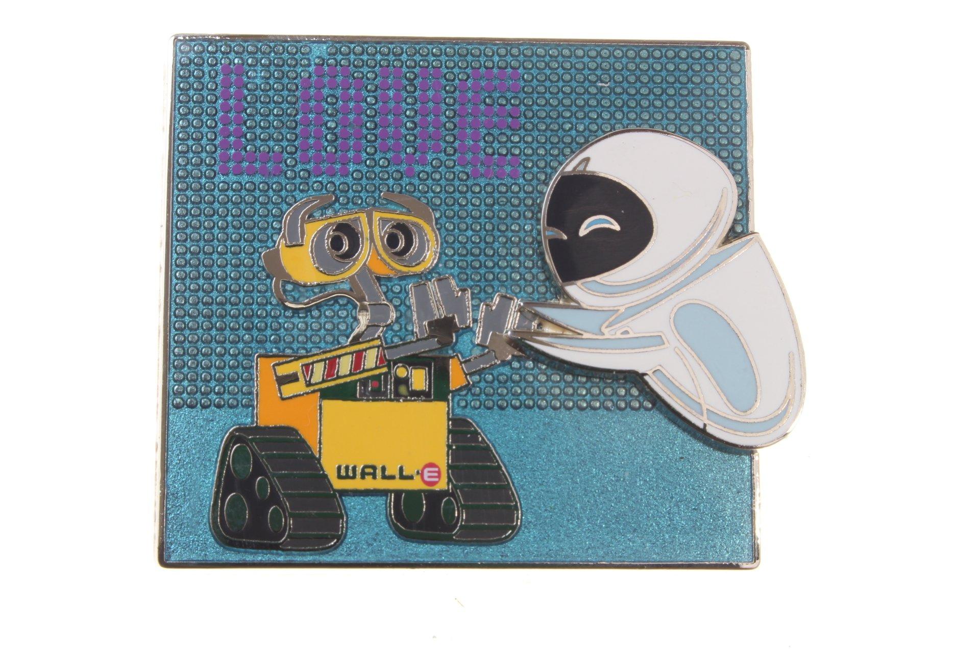 Disney Wall-E and Eve ''Love'' Pin