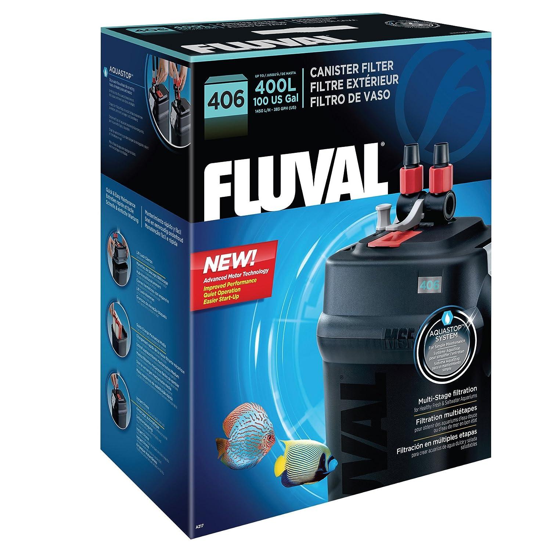 Fish tank external filter - Amazon Com Fluval 406 External Filter Aquarium Filters Pet Supplies