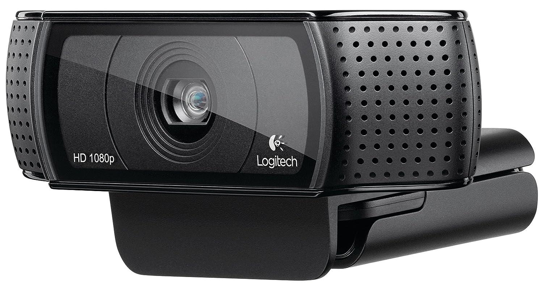Logitech G633 Gaming Headset + Logitech HD Pro Webcam C920 Streaming Bundle