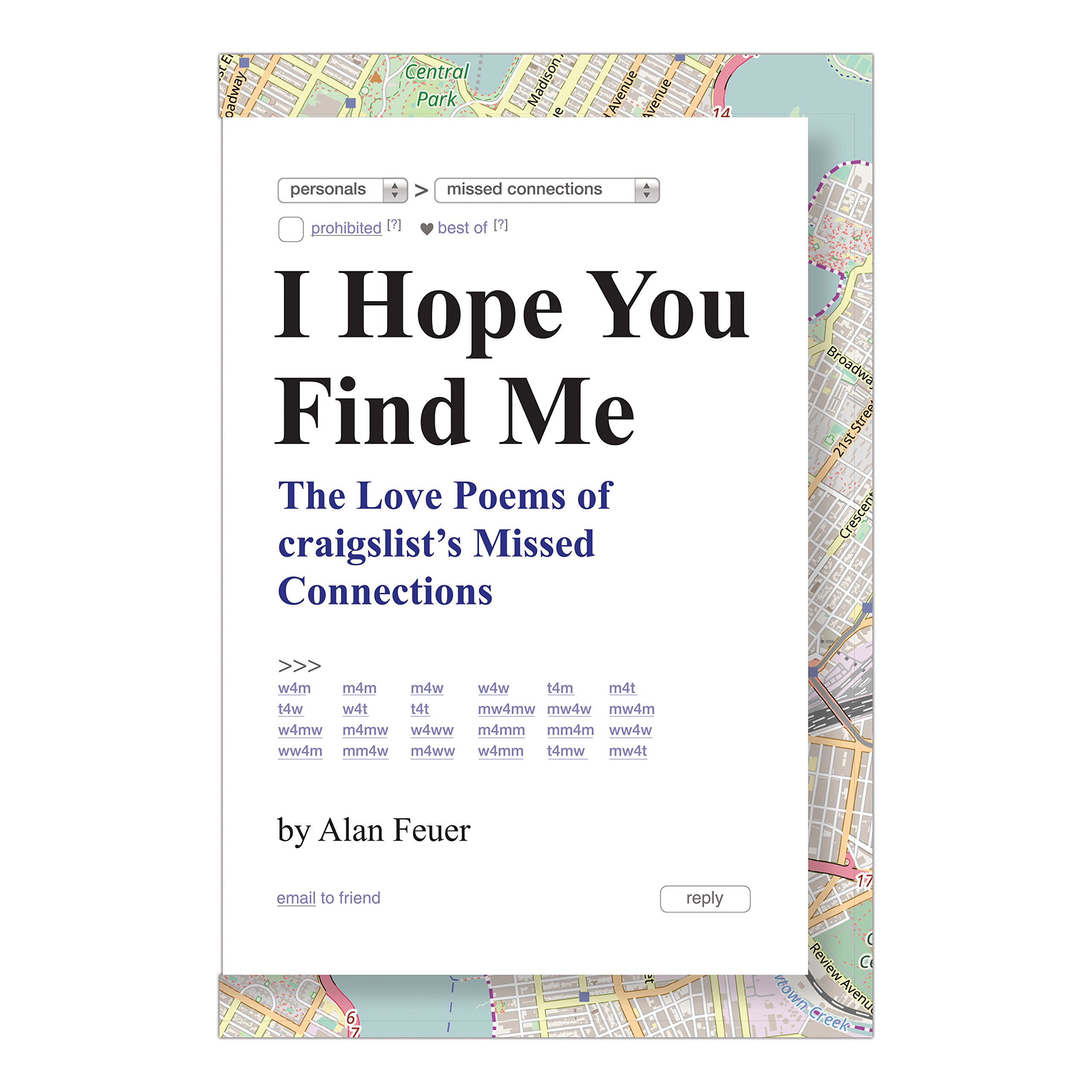 I Hope You Find Me: The Love Poems of Craigslist's Missed