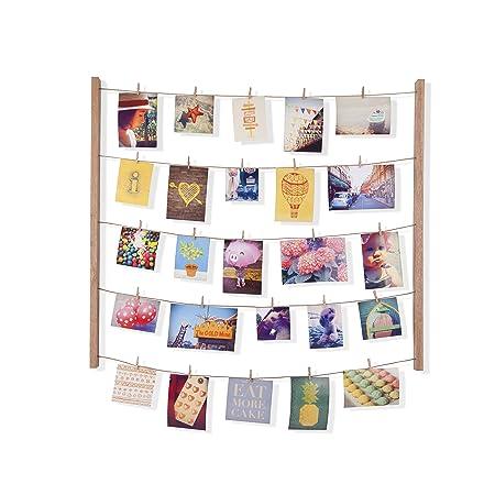 Umbra Hangit Photo Display - DIY Picture Frames Collage Set Includes ...