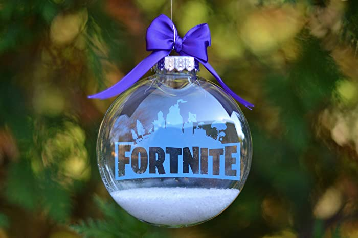 Amazon Com Fortnite Christmas Tree Ornament Handmade