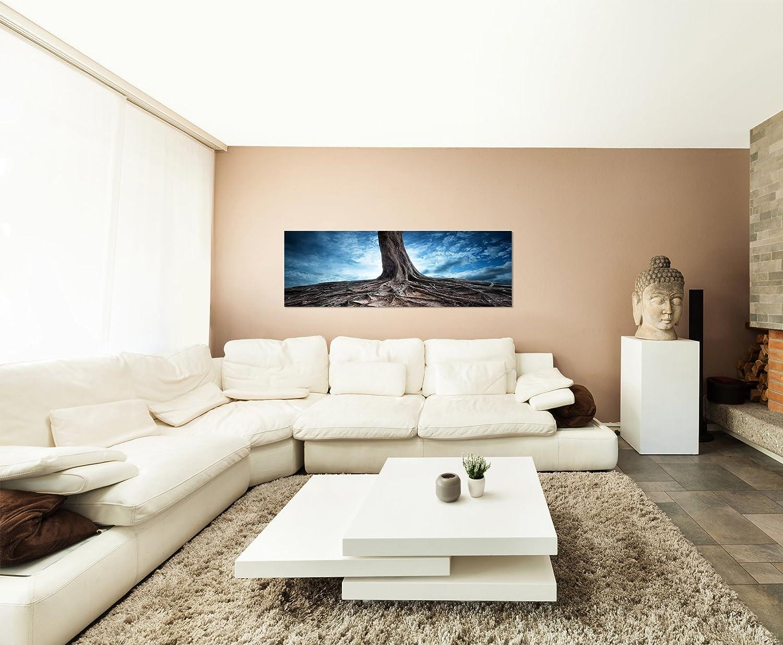 Amazonde Wurzel Baum Perspektive Wechsel 150x50cm Breitbild Als