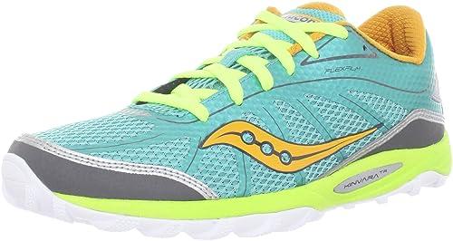 Saucony Kinvara TR - Zapatillas para correr en montaña de sintético para mujer verde/naranja/amarillo, color azul, talla 41.5: Amazon.es: Zapatos y ...