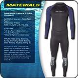Neo Sport Wetsuits Men's Premium Neoprene 7/5mm Full Suit