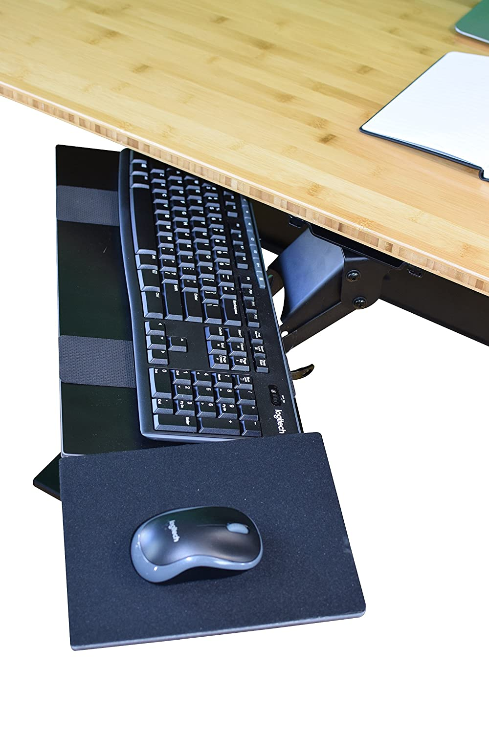Uncaged Ergonomics Ergonomic Under Desk Keyboard Tray With