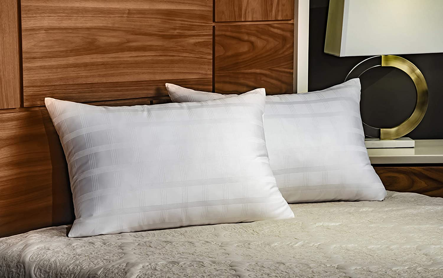 In Style Furnishings - Luxury Set of 2 Gel Fiber Bed Pillows