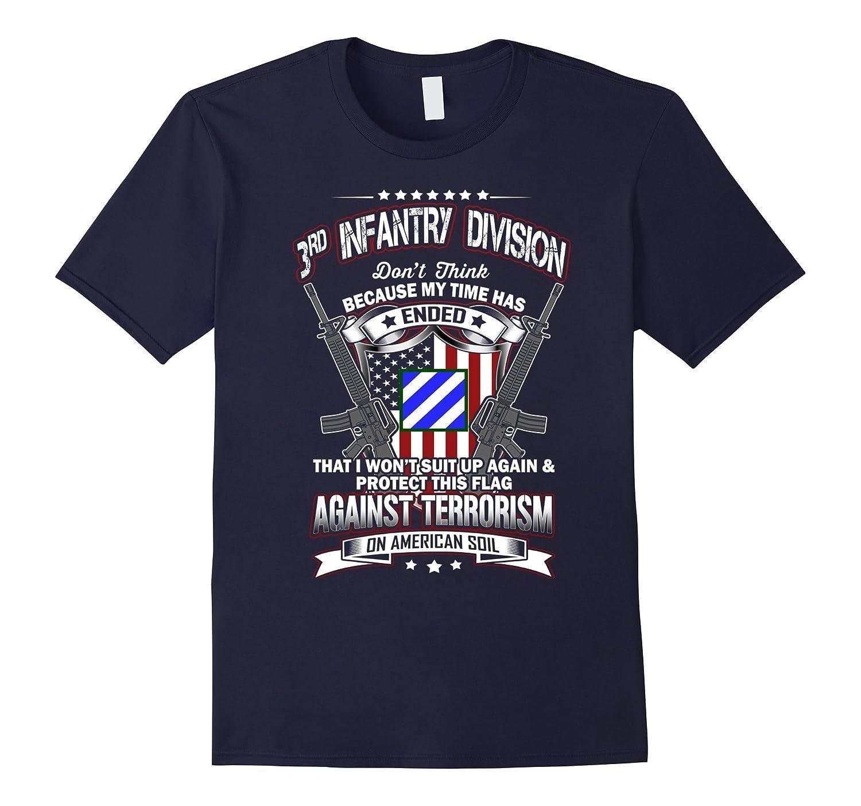 3rd Infantry Division Veteran Vintage T-Shirt-Vaci