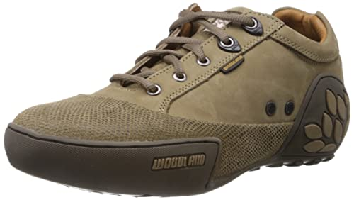 Buy Woodland Men's Leather Sneakers at
