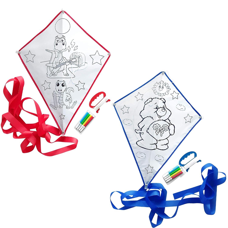 Beas Party 20 pz aquilone per bambini regalini festa compleanno bambini aquilone da colorare regalo ospiti matrimonio bambini comunione battesimo gadget per feste de compleanni per bambini