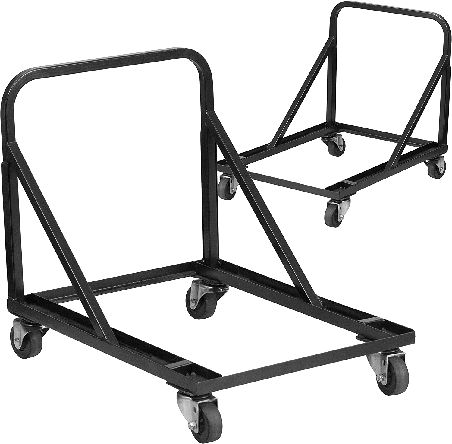 Flash Furniture 2 Pk. Band/Music Stack Chair Dolly