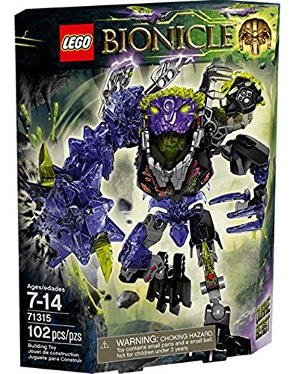 LEGO Bionicle - Quake Beast, Juegos de construcción, 102 Piezas (71315): Amazon.es: Juguetes y juegos